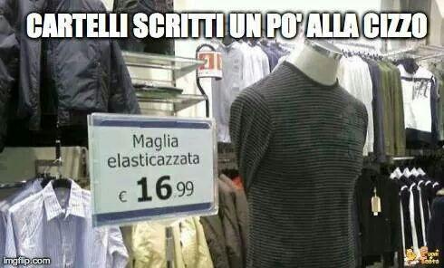 Che italiano correggiuto - meme