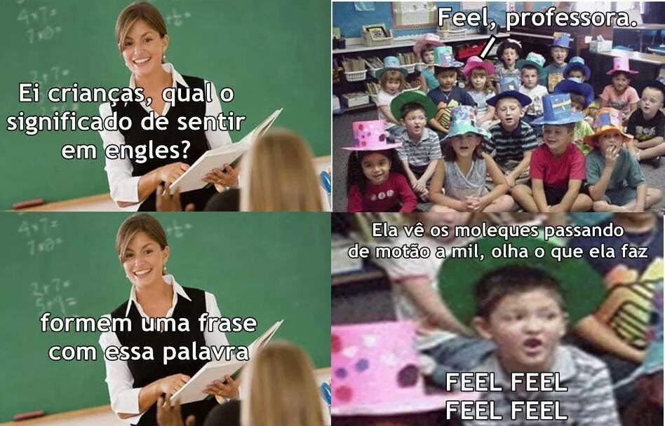 Feel feel - meme