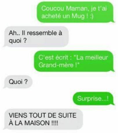 Surprise mamie - meme