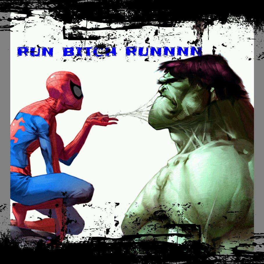 Run bitch runnn runn runnn runnn runn - meme