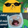 Volevo fare un meme sulla Pasqua ,e su adventure time,buona pasqua ,nosense tine ahaha ma Jake è epico ,spero vi piaccia