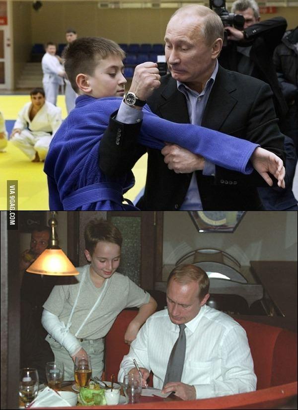 Putin Strikes - meme