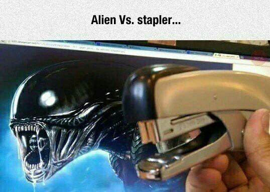 Comment décrédibiliser un alien - meme