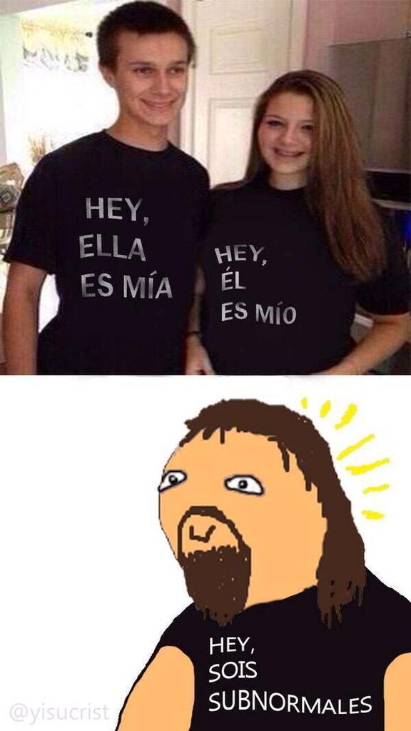 Subnormales - meme