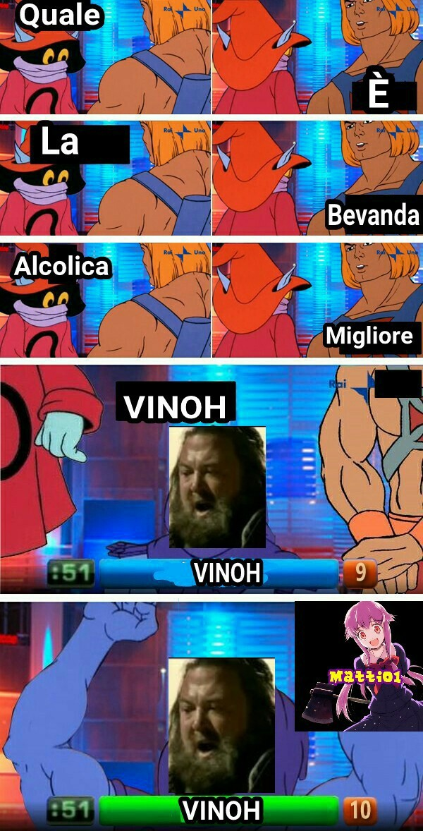 No cioè... VINOH FOR EVAH - meme