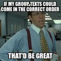 Just another reason why group texting sucks...