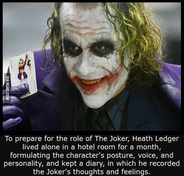 Heath Ledger ladies and gentlemen - meme