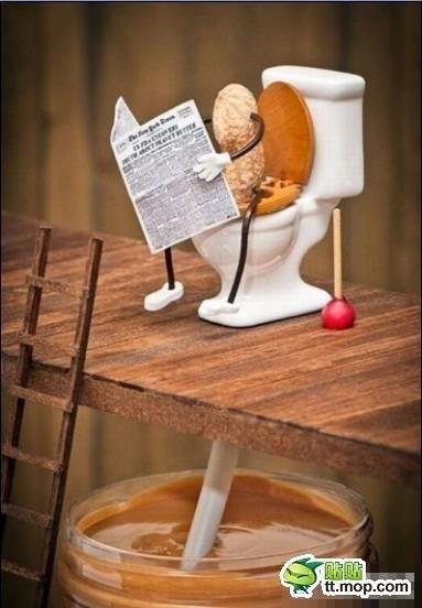 Como se faz pasta de amendoim - meme