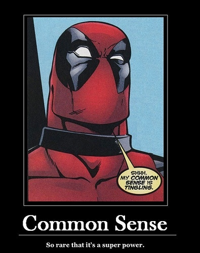 common sense - meme