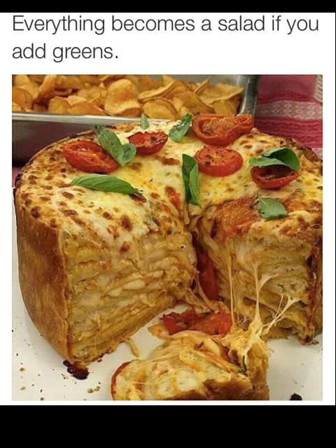 It's salad - meme