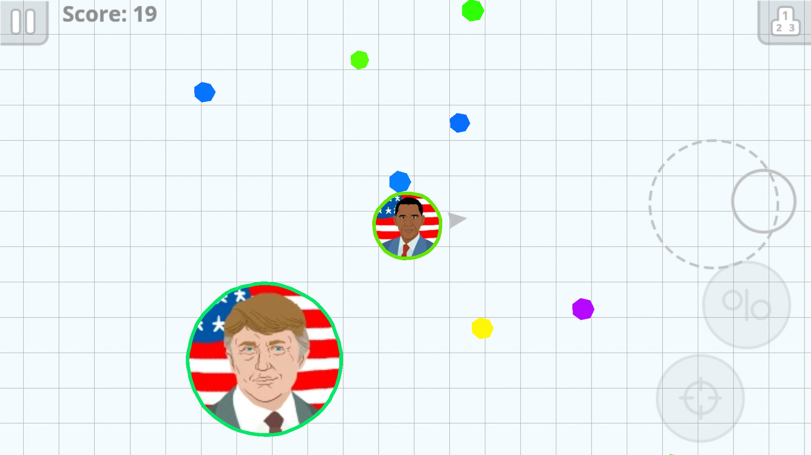 No trump!!! I was playing as obama - meme