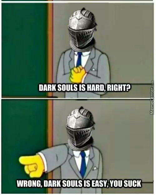 Dark souls 2 - meme