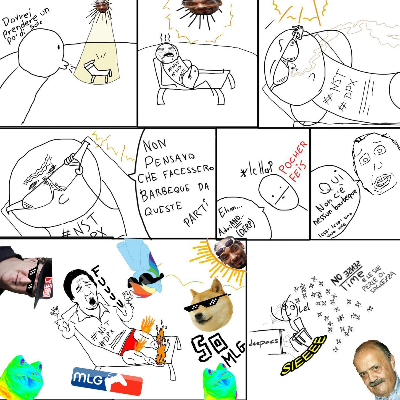 In collaborazione di NoSenseTime cito me stesso perché gli altri puzzano - meme