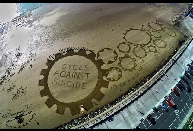 Made in Tramore,Ireland 14/10/15, Cycle against Suicide - meme
