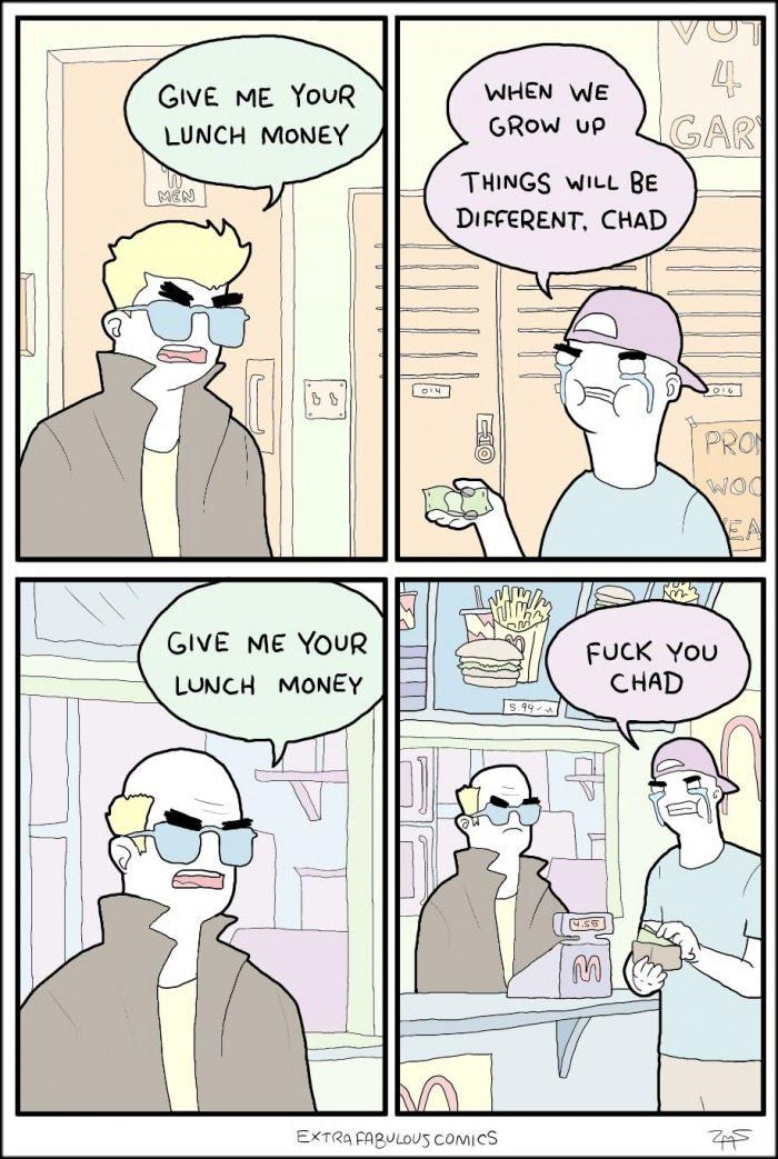 Goddammit Chad - meme