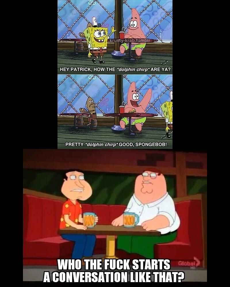 Family Spongebob Guy - meme