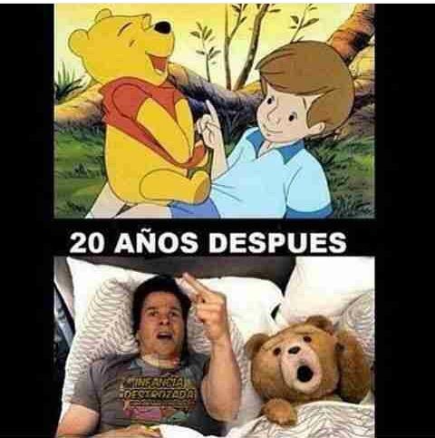 Winnie the Poo es un lokillo - meme