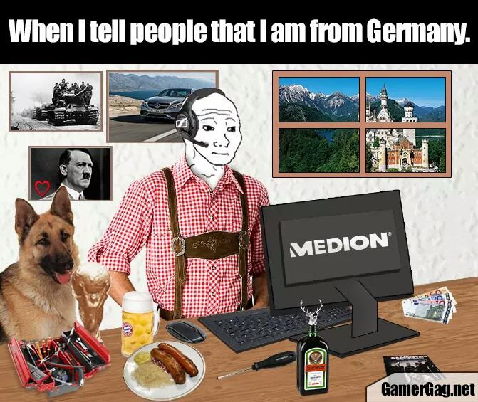 Typical German - meme