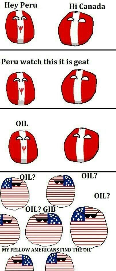 Oil? - meme