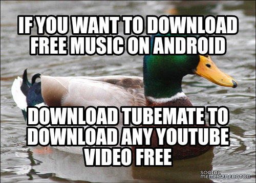 Free music on android - meme