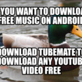 Free music on android