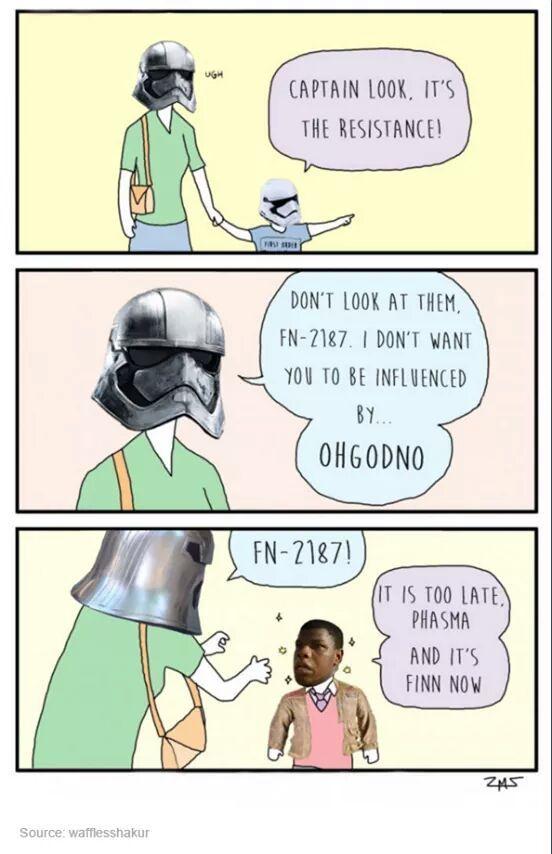 It's Finn now - meme