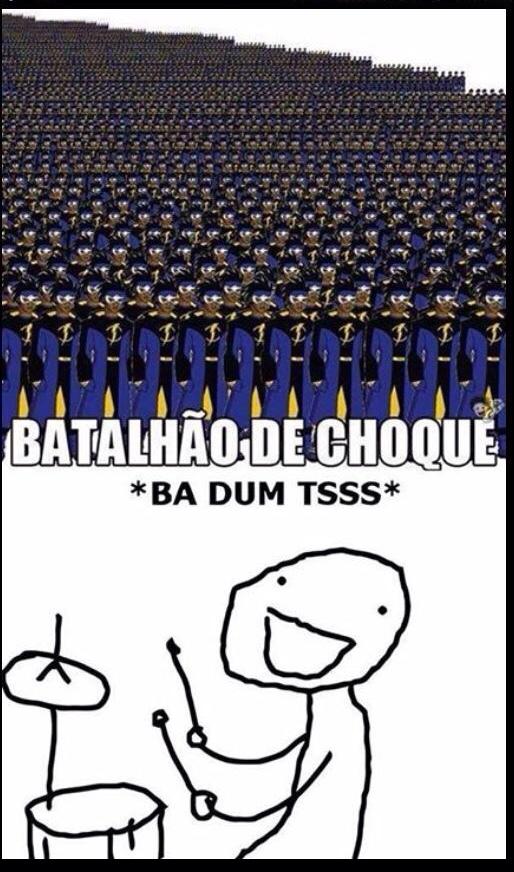 batalhão - meme