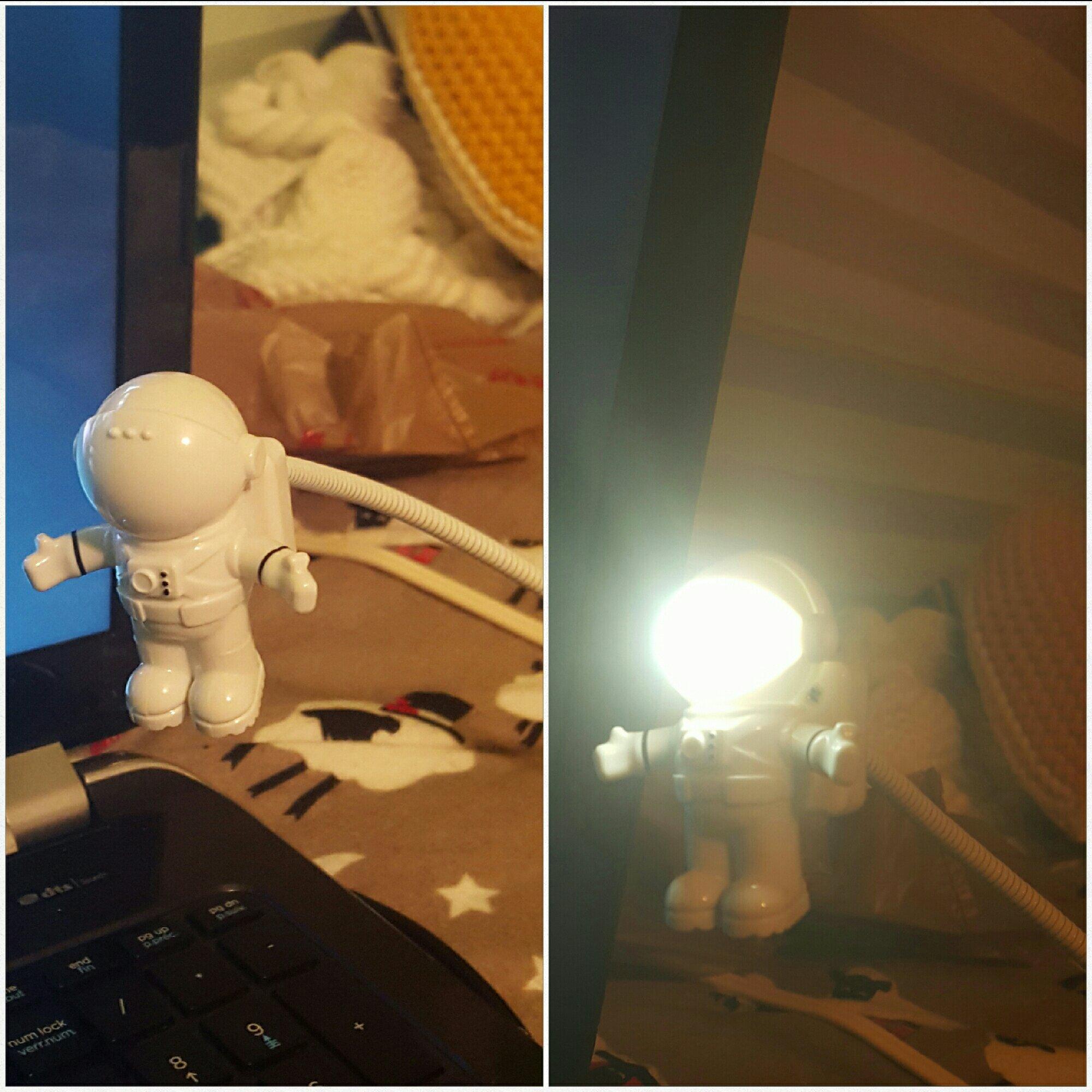 its a spaceman usb light - meme