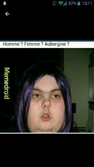 Aubergine ! - meme