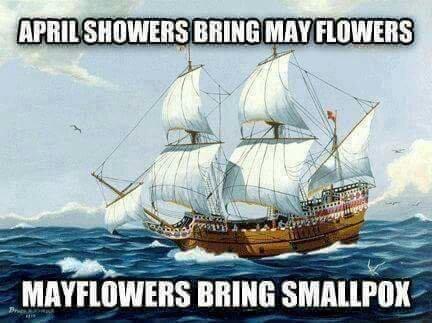 Columbus day is a sham - meme
