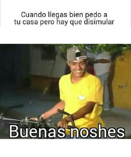 Buenas noshes - meme