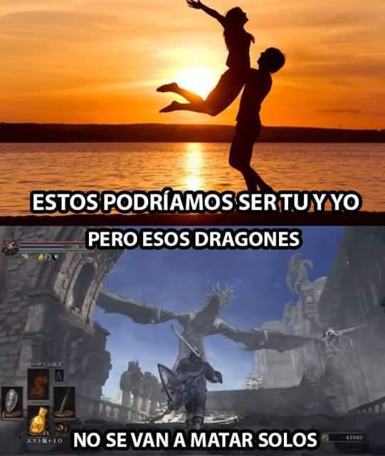 Dark Souls :v - meme