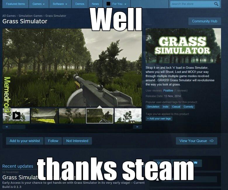 Steam... - meme