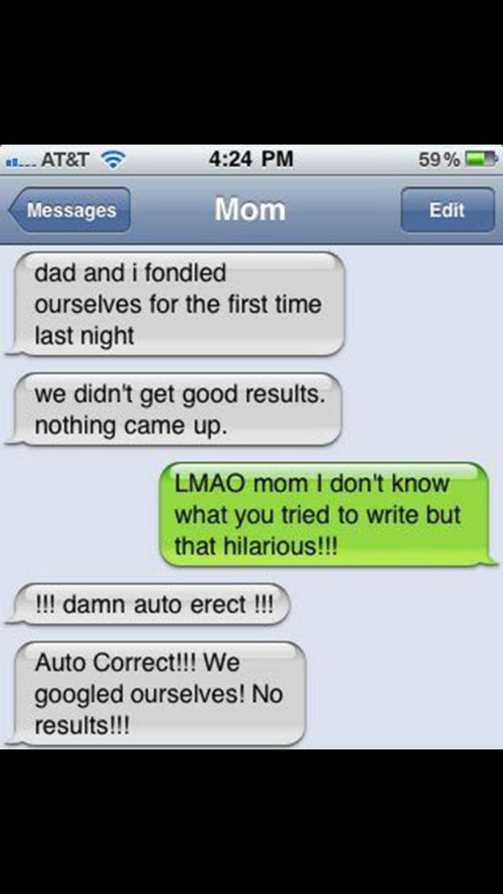 Damn auto correct! - meme