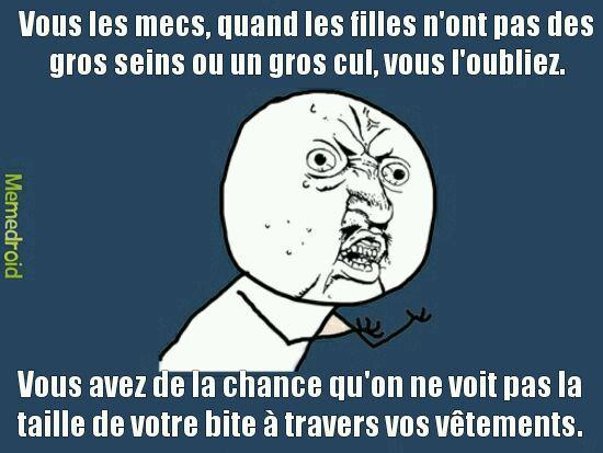 REBELLION LES FILLES! - meme