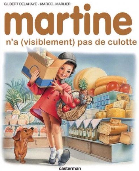 Martine la cochonne - meme