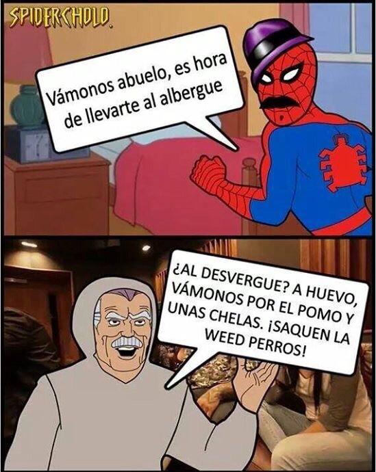 SPIDY CHOLO - meme