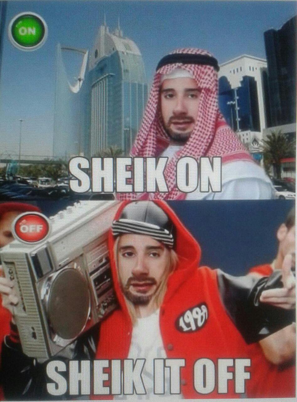 Shake it of Sheik - meme