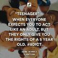 Teenager...