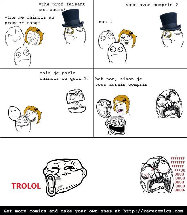 Désolée, j'ai pas de trolls asiatiques ! - meme