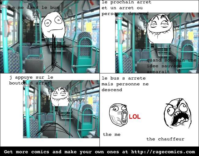 On a tous déjà fait ça dans le bus - meme