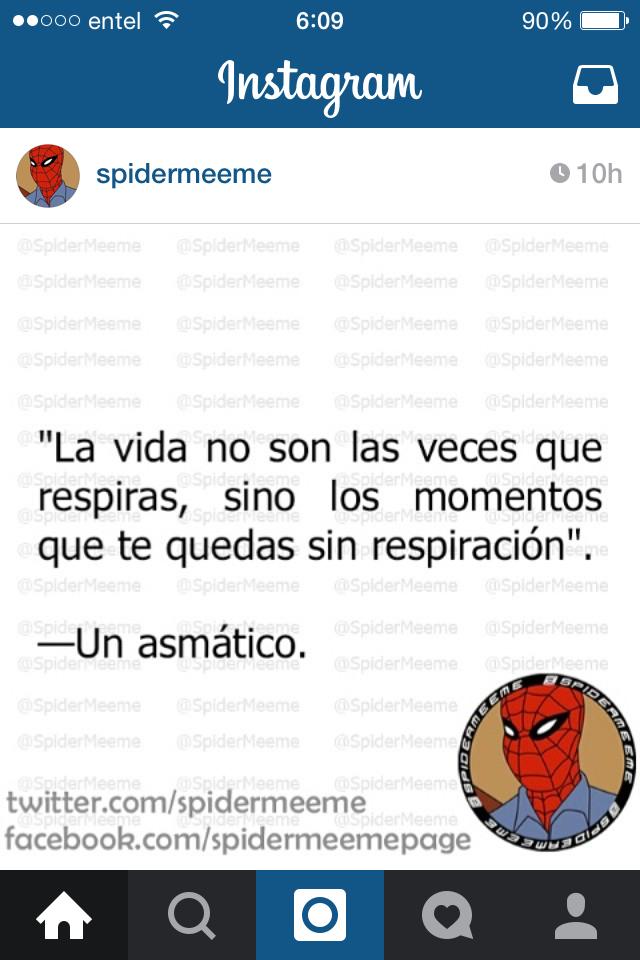 Asmáticos - meme