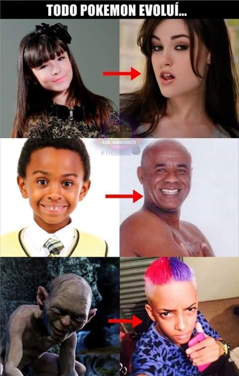 e evoluiu - meme