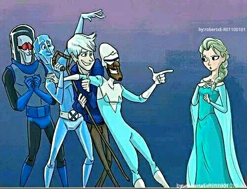 Frozono?!...haha, or in their dreams... :D frozennn - meme