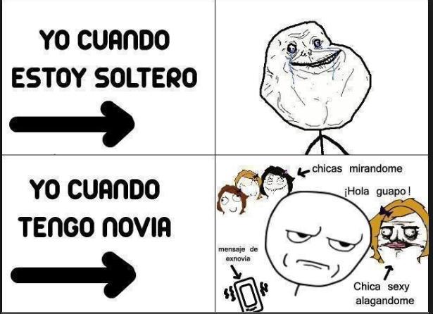 Soltero - meme