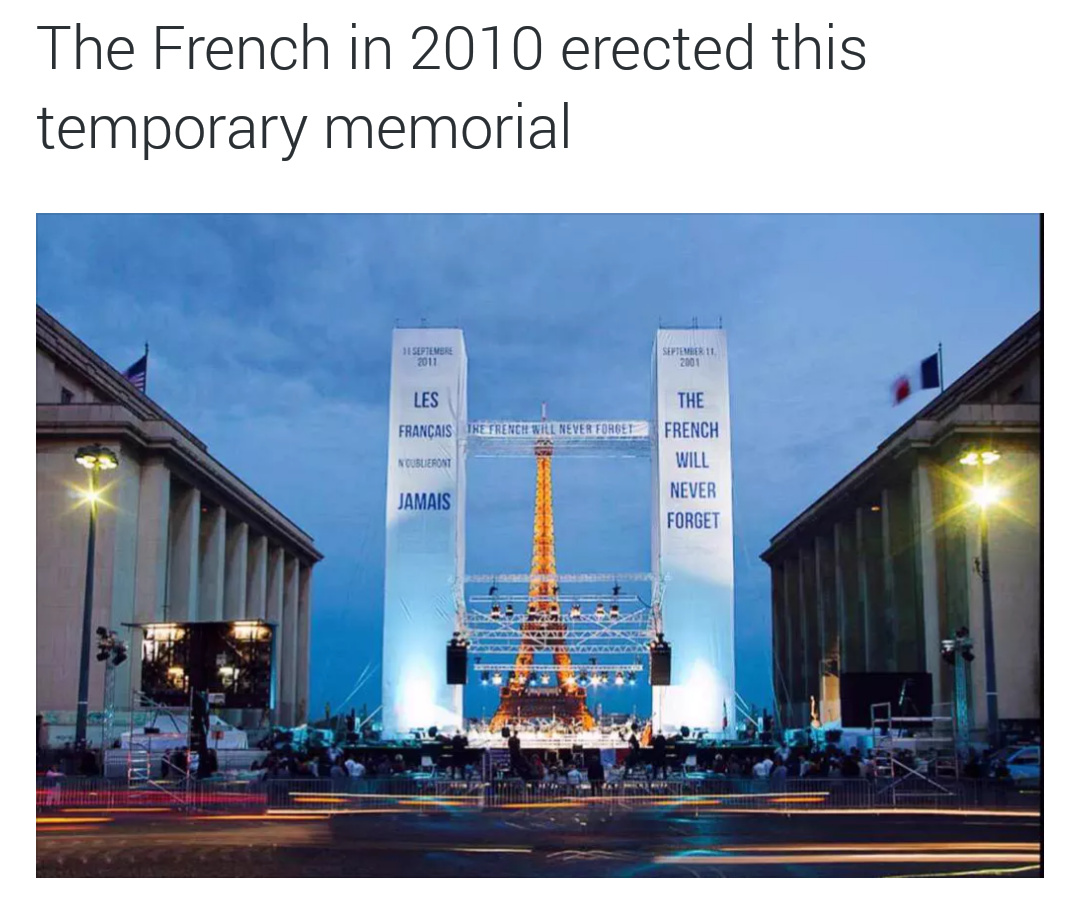 We rip on the French a lot, but y'all are alright sometimes - meme