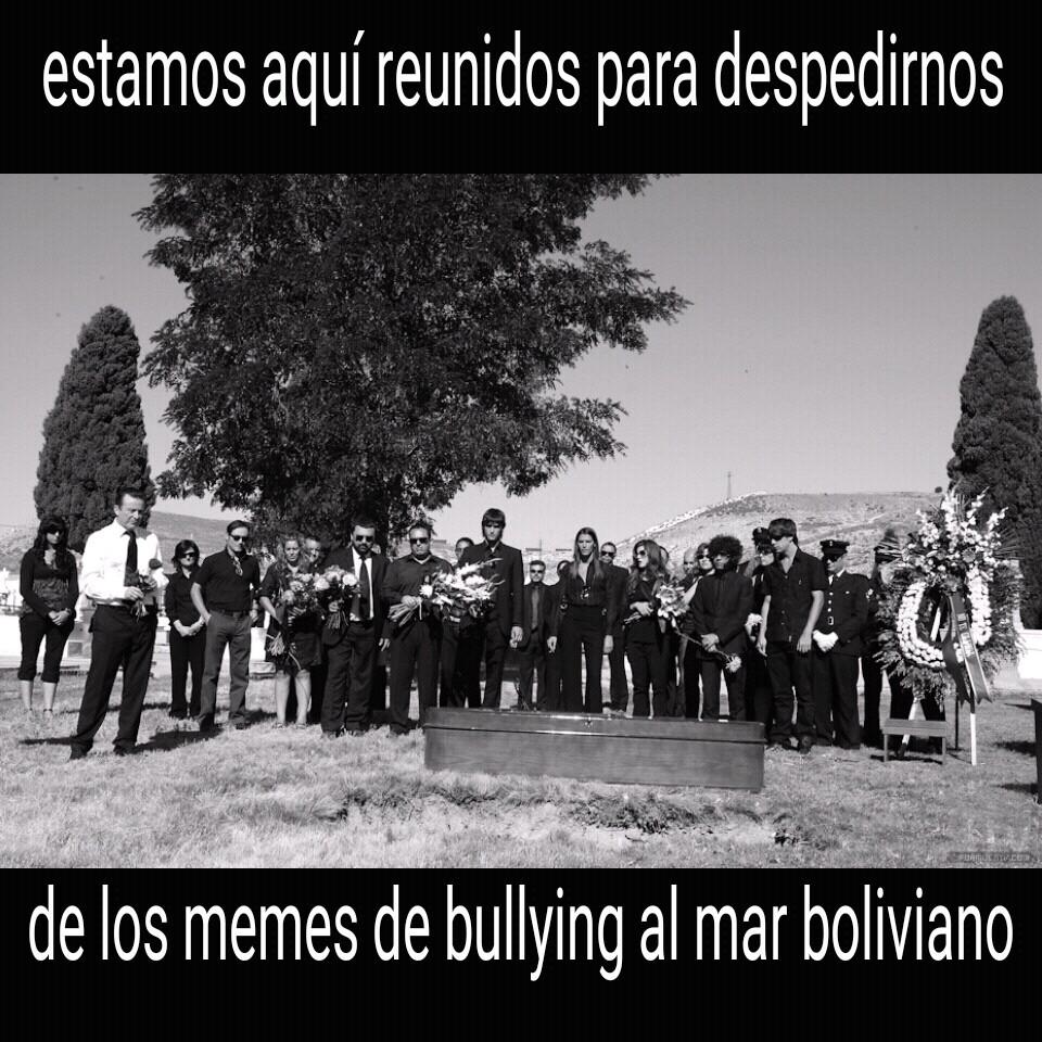 RIP bullying - meme