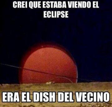Eclipse mis... Esta nublado :( - meme