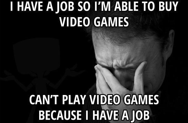 The struggle is real - meme