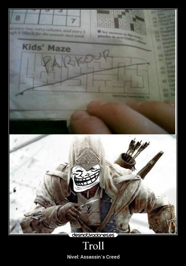 Assasins troll - meme